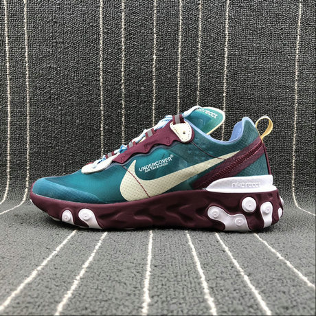 new product 8d720 1b98d get cheap nike react element 87 undercover purple red eacock blue violet  rouge paon bleu on